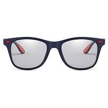 Фотохромные очки ViViBee Классика Rey Ban Синий+Красный