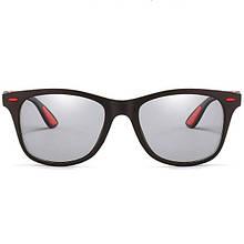 Фотохромные очки ViViBee Классика Rey Ban Коричневый+Красный
