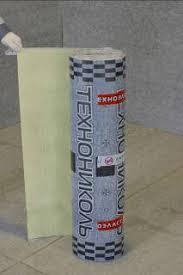 Техноеласт АКУСТИК 1,3 склохост (15 м. кв/рулон)