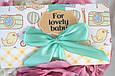 """Поздравительная открытка сертификат """"For Lovely Baby"""" , фото 2"""