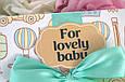 """Поздравительная открытка сертификат """"For Lovely Baby"""" , фото 3"""