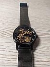 Мужские механические часы скелетон Skmei 9199, фото 4