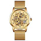 Мужские механические часы скелетон Skmei 9199, фото 5