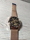 Мужские механические часы скелетон Skmei 9199, фото 8
