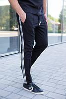 Мужские спортивные брюки с лампасами. Модные спортивные мужские штаны со стрелками. , фото 1