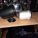 602701 LED Вольтметр на ніжці, діам.60мм.стрілочний чорний в корпусі, фото 2