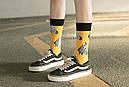 Круті шкарпетки з яскравим принтом носки со зверьками, фото 5