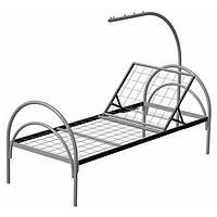 Кровать медицинская металлическая раскладная реанимационная (ширина 864 мм)