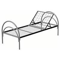 Кровать медицинская металлическая раскладная (ширина 864 мм)