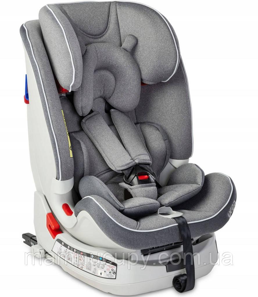 Детское автокресло Caretero Yoga Isofix Grey 0-36 кг