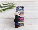 Різдвяні шкарпетки з оленями рождественские новогодние носки с оленями, фото 4