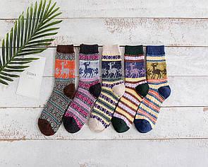 Різдвяні шкарпетки з оленями різдвяні новорічні шкарпетки з оленями