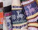 Різдвяні шкарпетки з оленями рождественские новогодние носки с оленями, фото 3