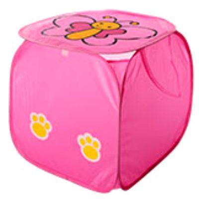 Кошик для іграшок M 2508, тварина, розмір 45 см, висота 45 см, кришка на липучці, з ручками, 6 видів, в пакеті Метелик