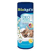 Дезодорант туалету для кішок Biokat's «Deo Cotton Blossom» 700 г (порошок)