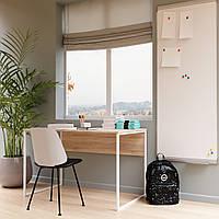 """Офісний стіл """"Універ 2 Білий"""" 740x1200x600 мм, фото 1"""