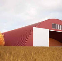 Строительство склада хранения зерна