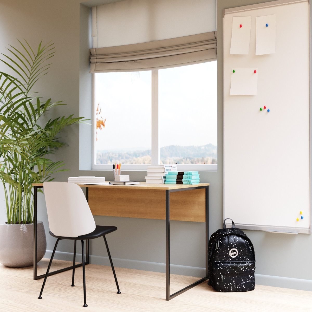 """Офісний стіл """"Універ 2"""" 740x1200x600 мм"""