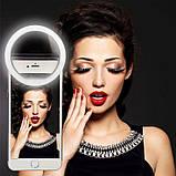 Светодиодное кольцо для селфи Selfie Ring Light, фото 5