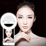 Светодиодное кольцо для селфи Selfie Ring Light, фото 6