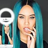 Светодиодное кольцо для селфи Selfie Ring Light, фото 8
