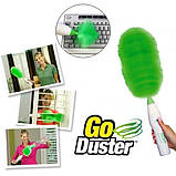Вращающаяся электронная щетка от пыли Go Duster, фото 2