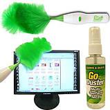Вращающаяся электронная щетка от пыли Go Duster, фото 9