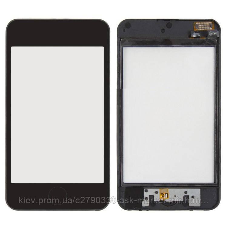 Сенсор для Apple iPod Touch 2G Original Black с рамкой и кнопкой HOME