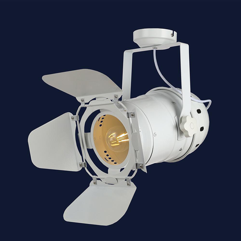 Современный трековый потолочный светильник цвет белый Levistella&75232 WH