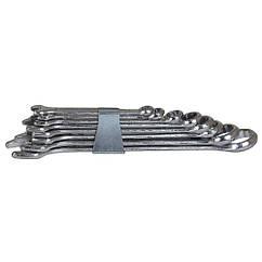 Ключи рожково-накидные  8шт 6-19мм standard GRAD (6010085)