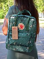 Жіночий Зелений Рюкзак Kanken Classic репліка, фото 1