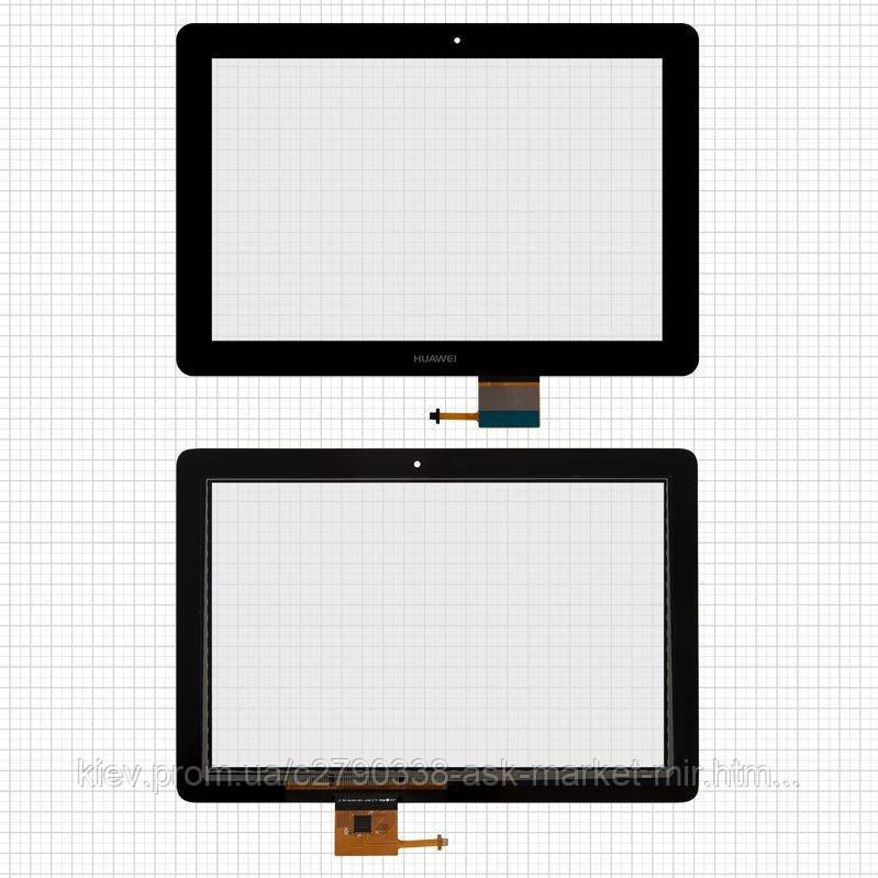 Сенсор для Huawei MediaPad 10 Link S10-201u, MediaPad 10 Link+ S10-231u Original Black