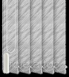 Жалюзі вертикальні Престиж Сірі