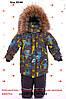 Зимние комбинезоны для мальчиков на холлофайбере размеры 86-116, фото 6