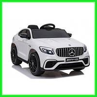 Электромобиль детский ездовой с дистанционным управлением Mercedes Benz GLC63S White (Белый)