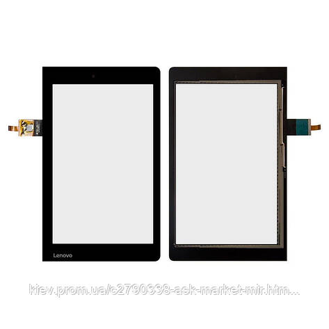 Сенсор для Lenovo Yoga Tablet 3-850F Original Black #080-2123 V5, фото 2