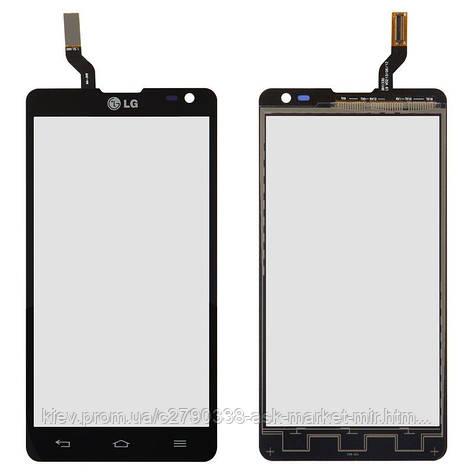 Сенсор для LG Optimus L9 II D605 Original Black, фото 2
