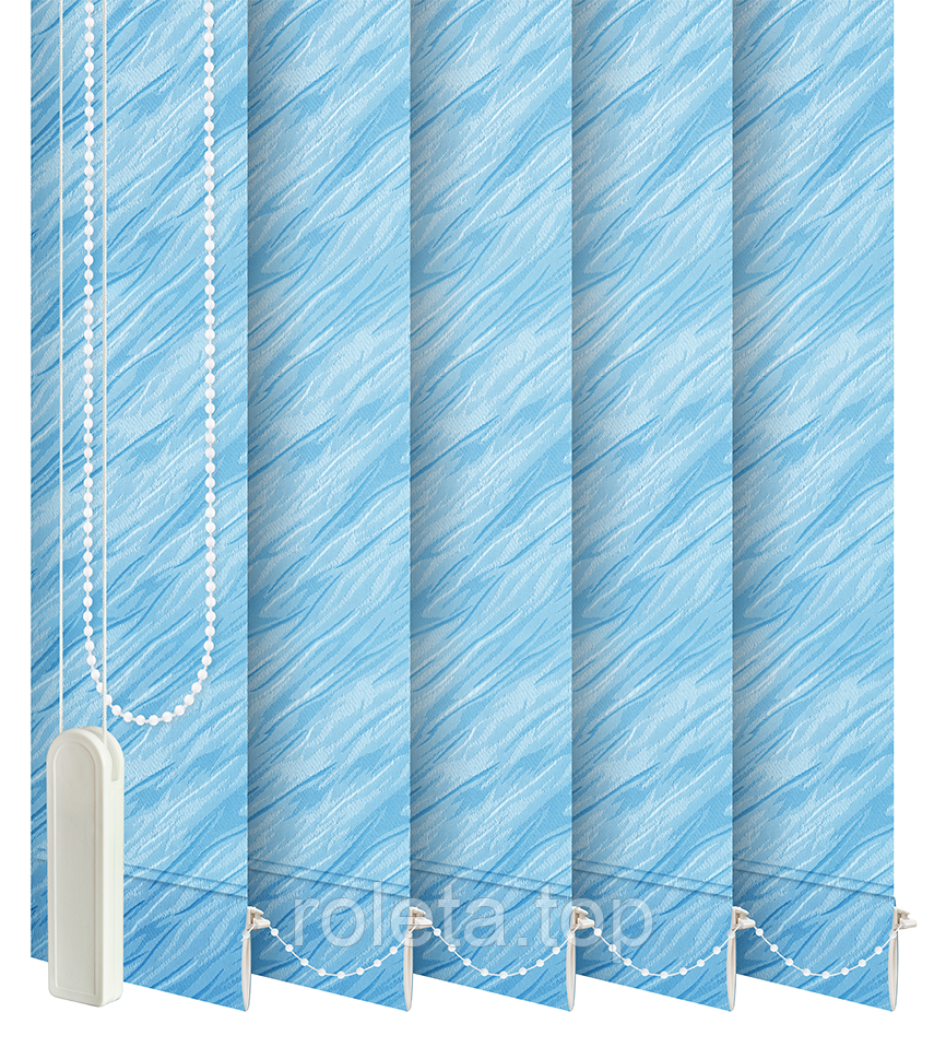 Жалюзи вертикальные Престиж Голубые