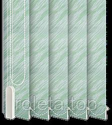 Жалюзі вертикальні Престиж Зелені
