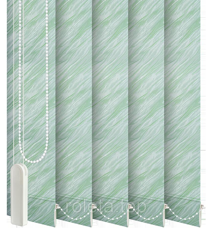 Жалюзи вертикальные Престиж Зеленые