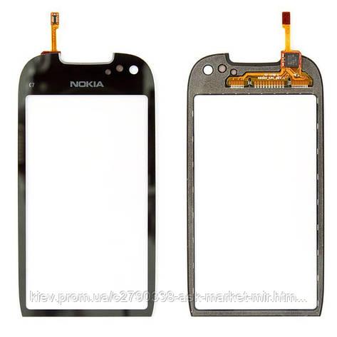 Сенсор для Nokia C7-00 Original Black, фото 2
