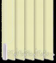 Жалюзі вертикальні Класик Світло-жовті