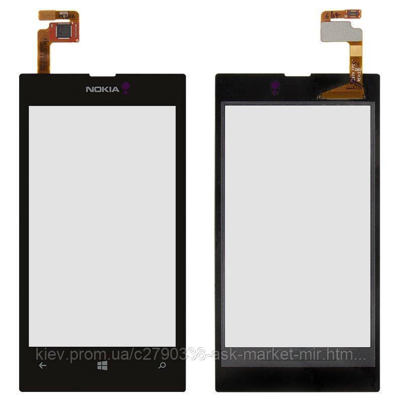 Сенсор для Nokia Lumia 520, Lumia 525 Original Black