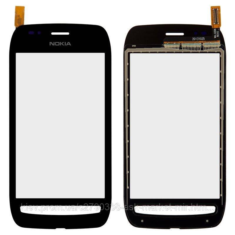 Сенсор для Nokia Lumia 710 Original Black