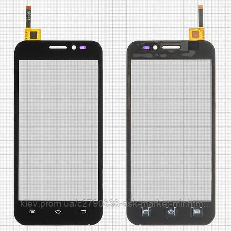 Сенсор для Nomi i451 Twist Original Black #HC045F155-M-V03, фото 2