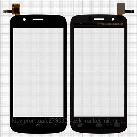 Сенсор для Prestigio MultiPhone 5453 Duo Original Black #TF0664A-03 B06405011A, фото 2