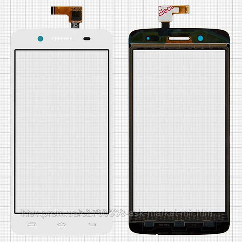 Сенсор для Prestigio MultiPhone 5507 Duo Original White #TF0635A-09 A02805001A, фото 2