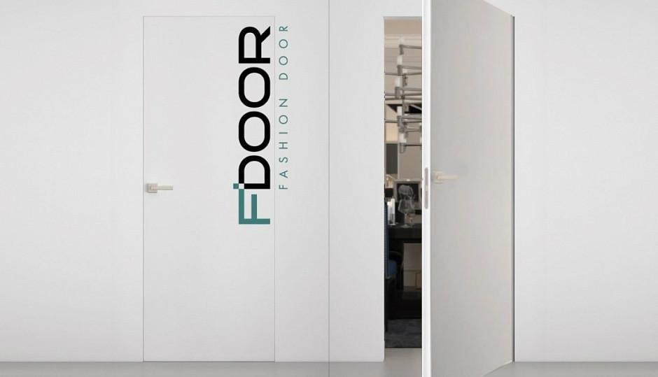 """Двері """"Прихованого монтажу"""" під фарбування F'DOOR"""