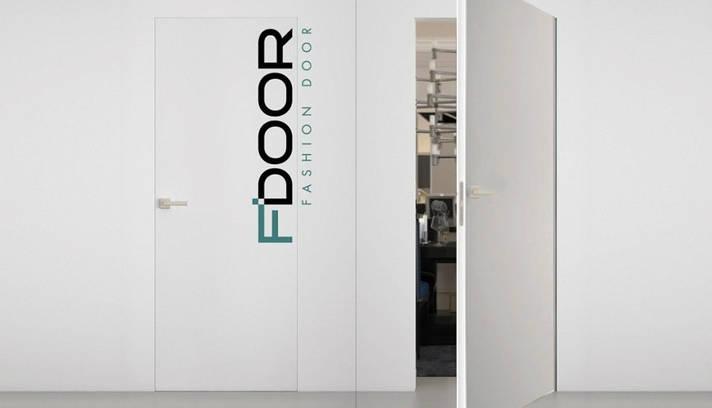 """Двері """"Прихованого монтажу"""" під фарбування F'DOOR, фото 2"""