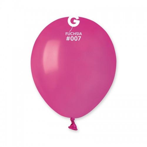 """Воздушные шары латексные малиновый 5"""" 13 см"""
